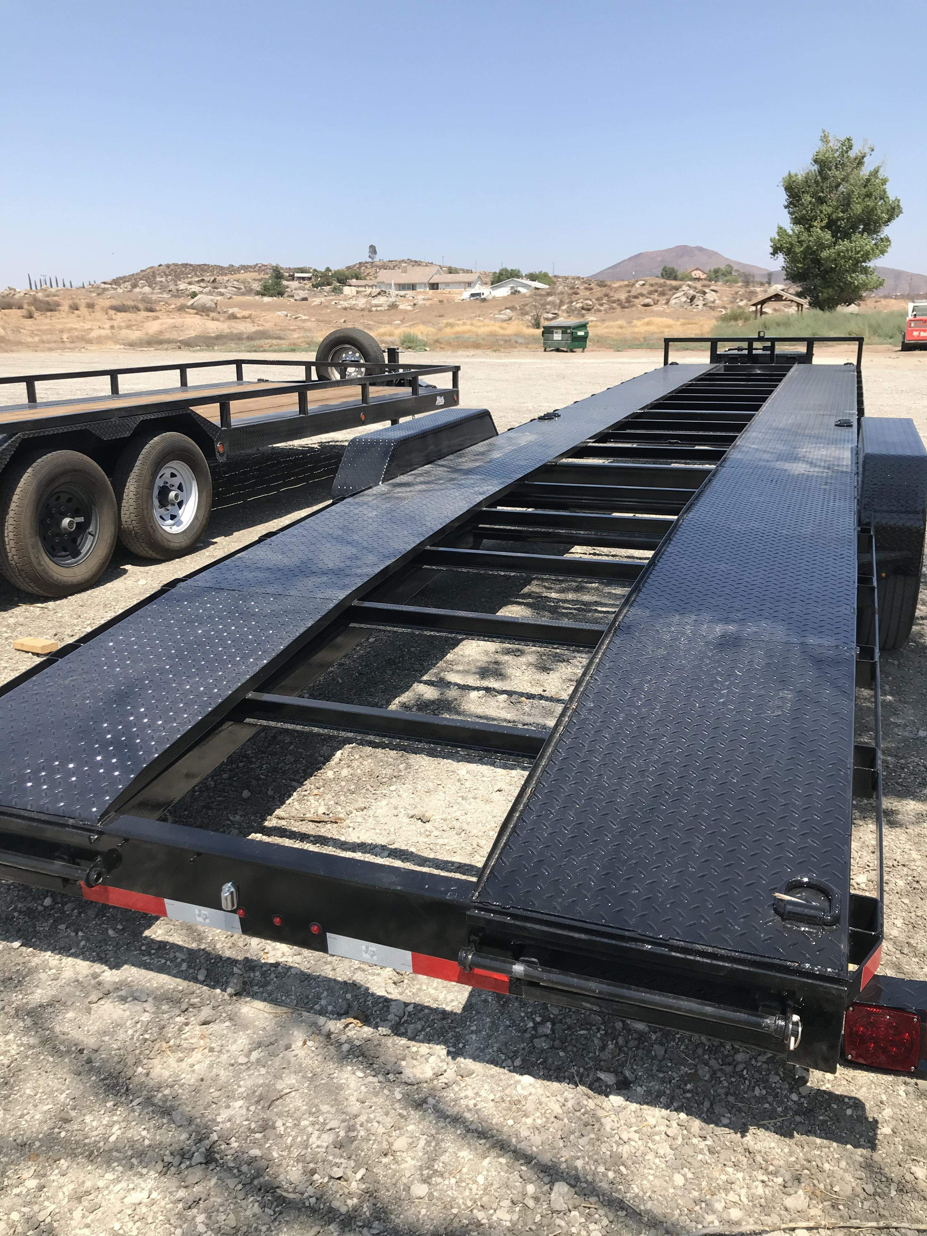 Car Hauler Flatbed Trailer Rental Car Trailer Rental