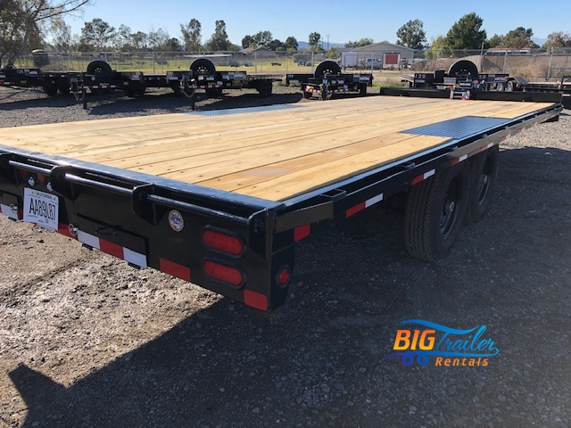 Flatbed Trailer Rental