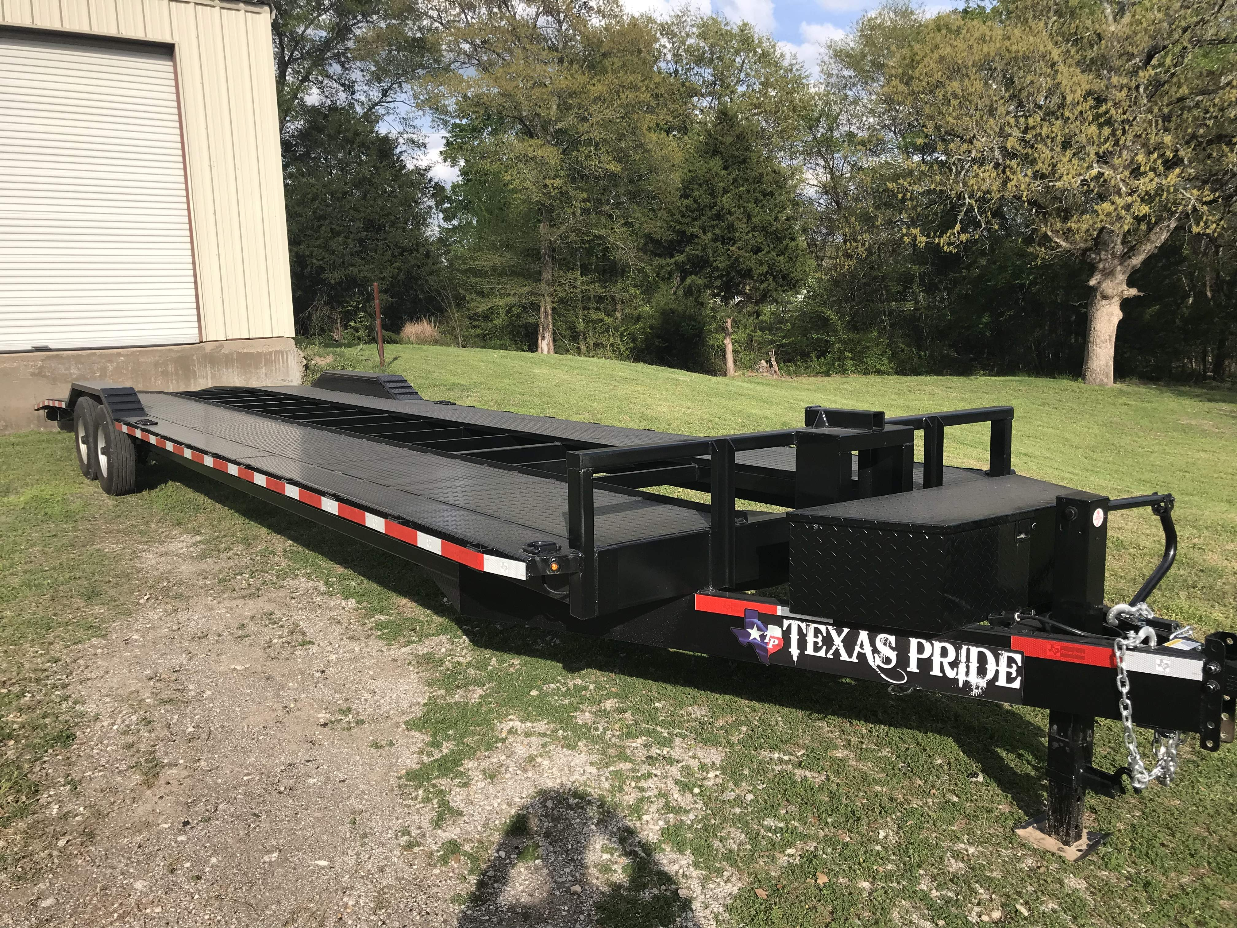 Car Hauler Flatbed Trailer Rentals