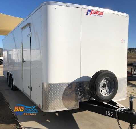 24 foot Enclosed Trailer Rental
