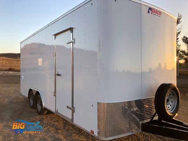 20' Enclosed Trailer Rental