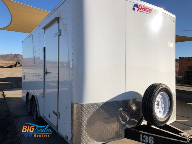 16 ft. Enclosed Trailer Rental