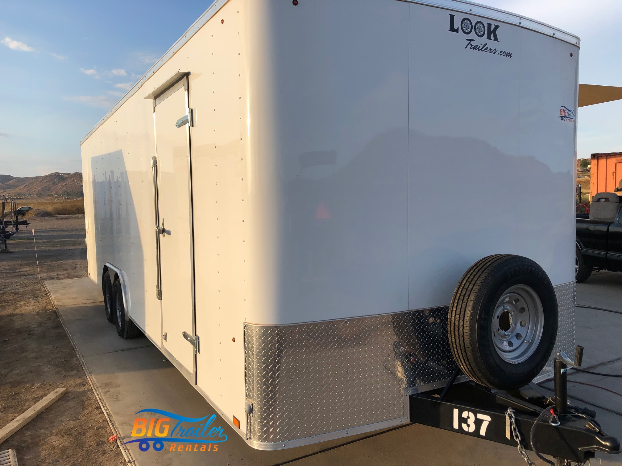 24 ft Enclosed Trailer Rental