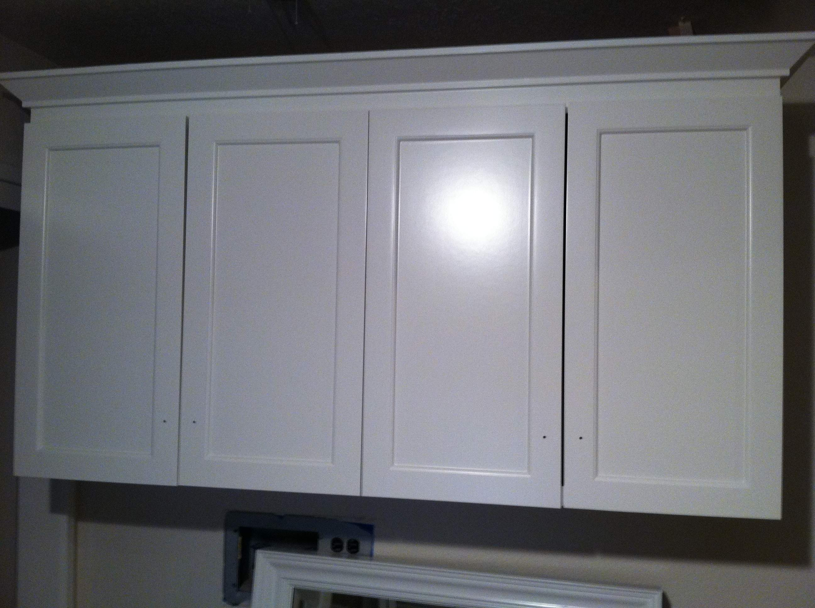 Cabinet Finish job