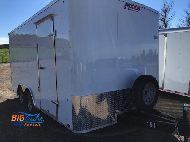 16 Foot Enclosed Trailer Rental