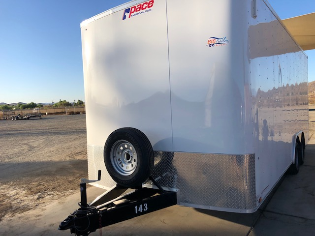 20 Foot Enclosed Trailer Rental