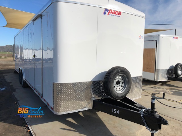28' enclosed trailer rental
