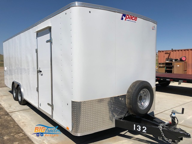24' Enclosed Trailer Rental