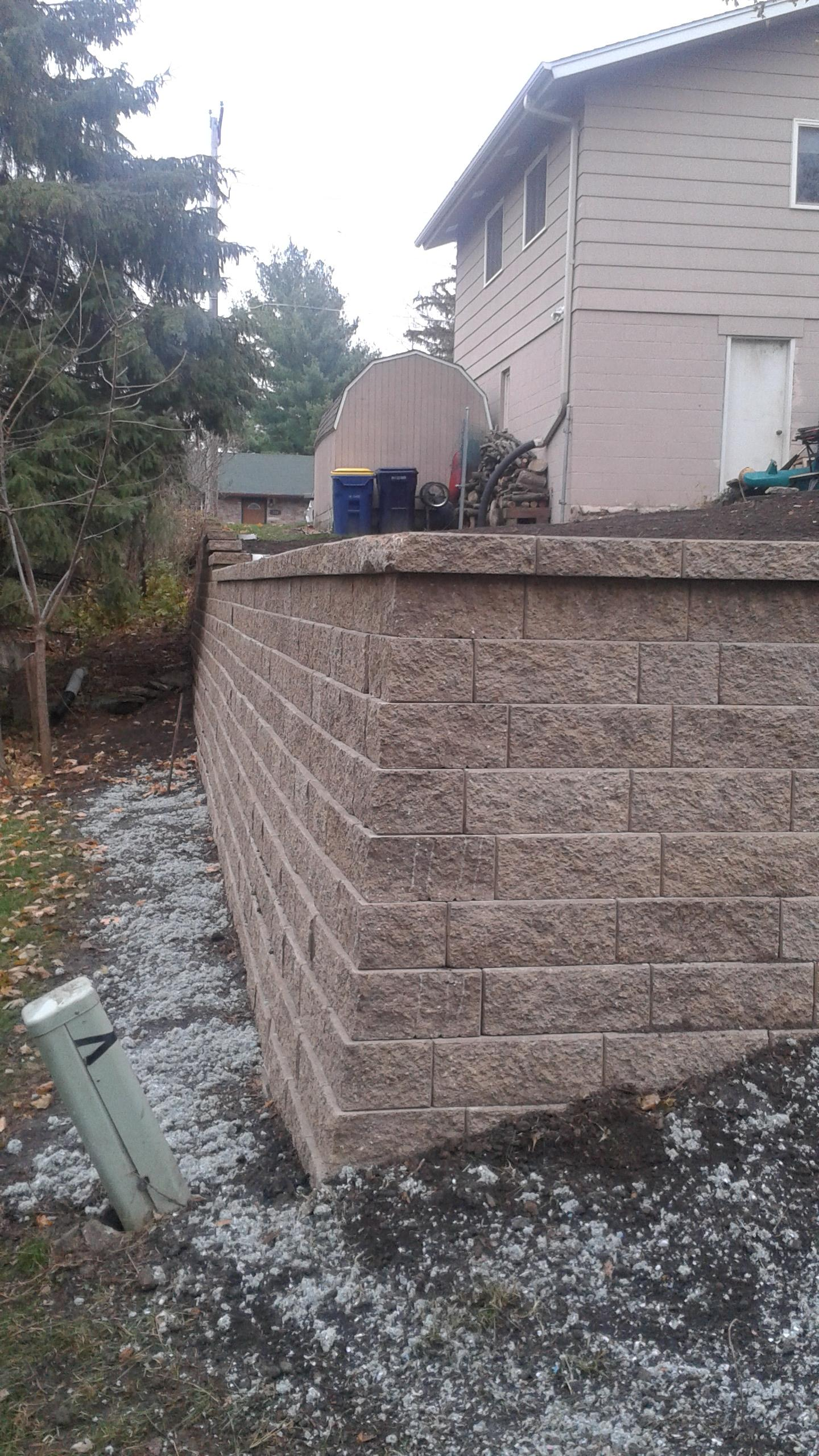 Classic Retaining Wall