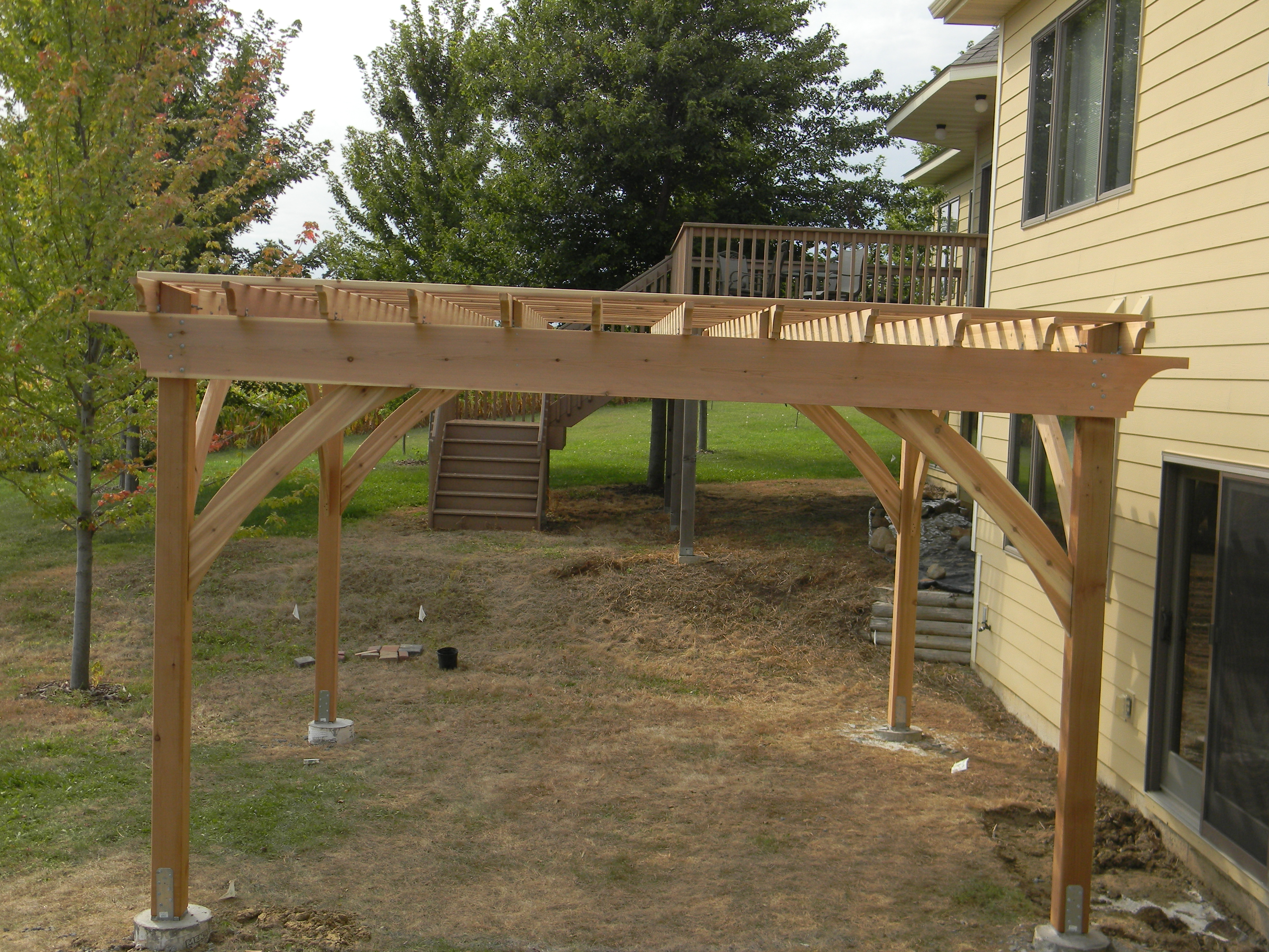 Pergola - options are endless