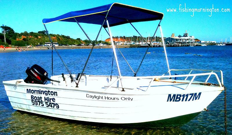 tinnie for hire- fishing boat- mornington- peninsula- frankston- melbourne