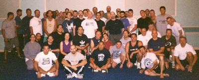 DaSilva Sensei in Group Photo at Matt Furey's First Tampa Seminar 2003